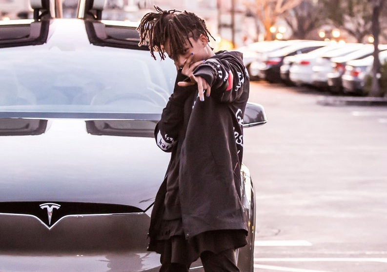 Spotted: Jaden Smith in Rick Owens x Adidas 'Tech Runner' Sneakers