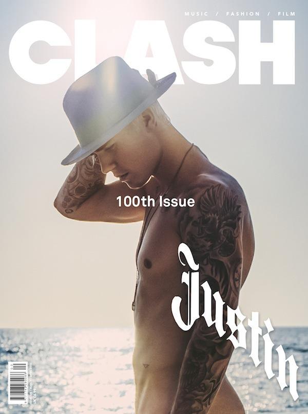 Justin Bieber Covers Clash Magazine