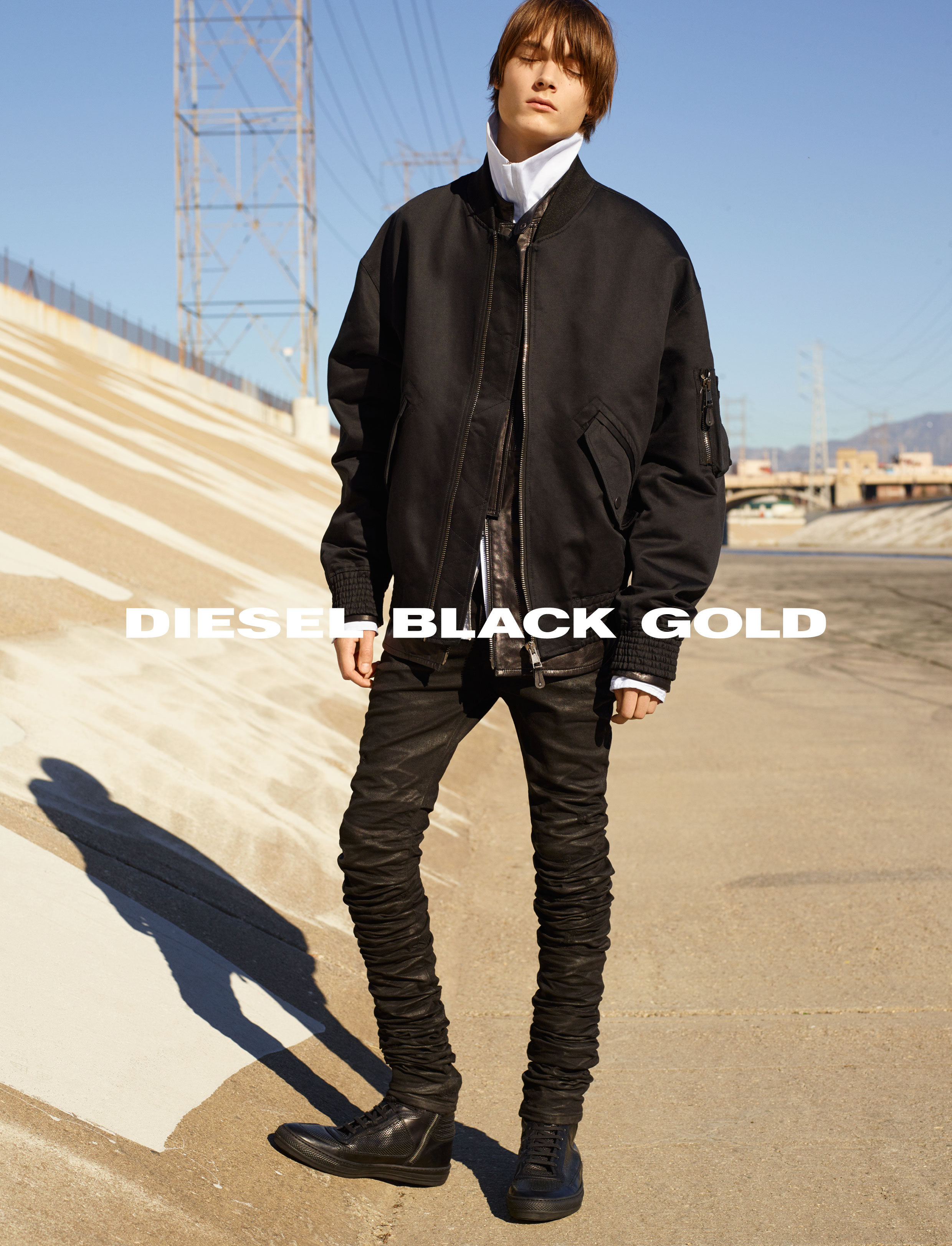 Diesel Black Gold SS16 Campaign