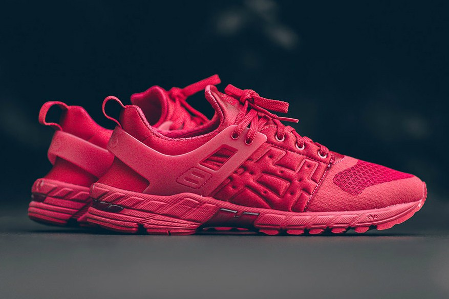 ASICS Launches All-Red GT-DS Sneaker Silhouette