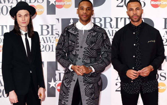 Red Carpet: Brit Awards 2016 Men's Style