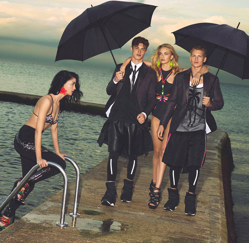 Dsquared2 Spring/Summer 2016 Campaign