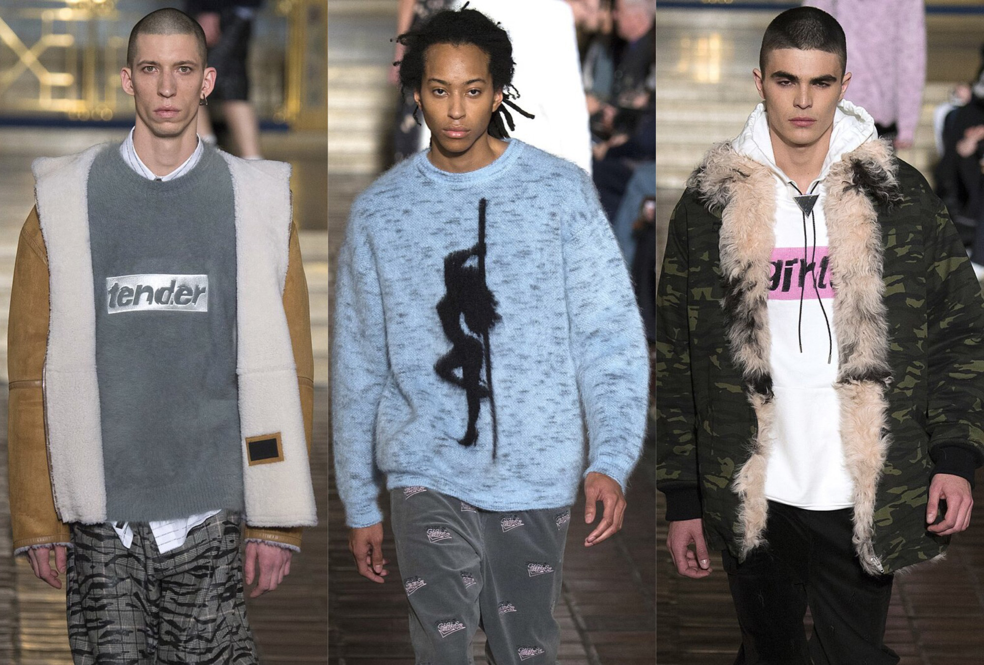 NYFW: Alexander Wang Fall/Winter 2016 Men's Collection