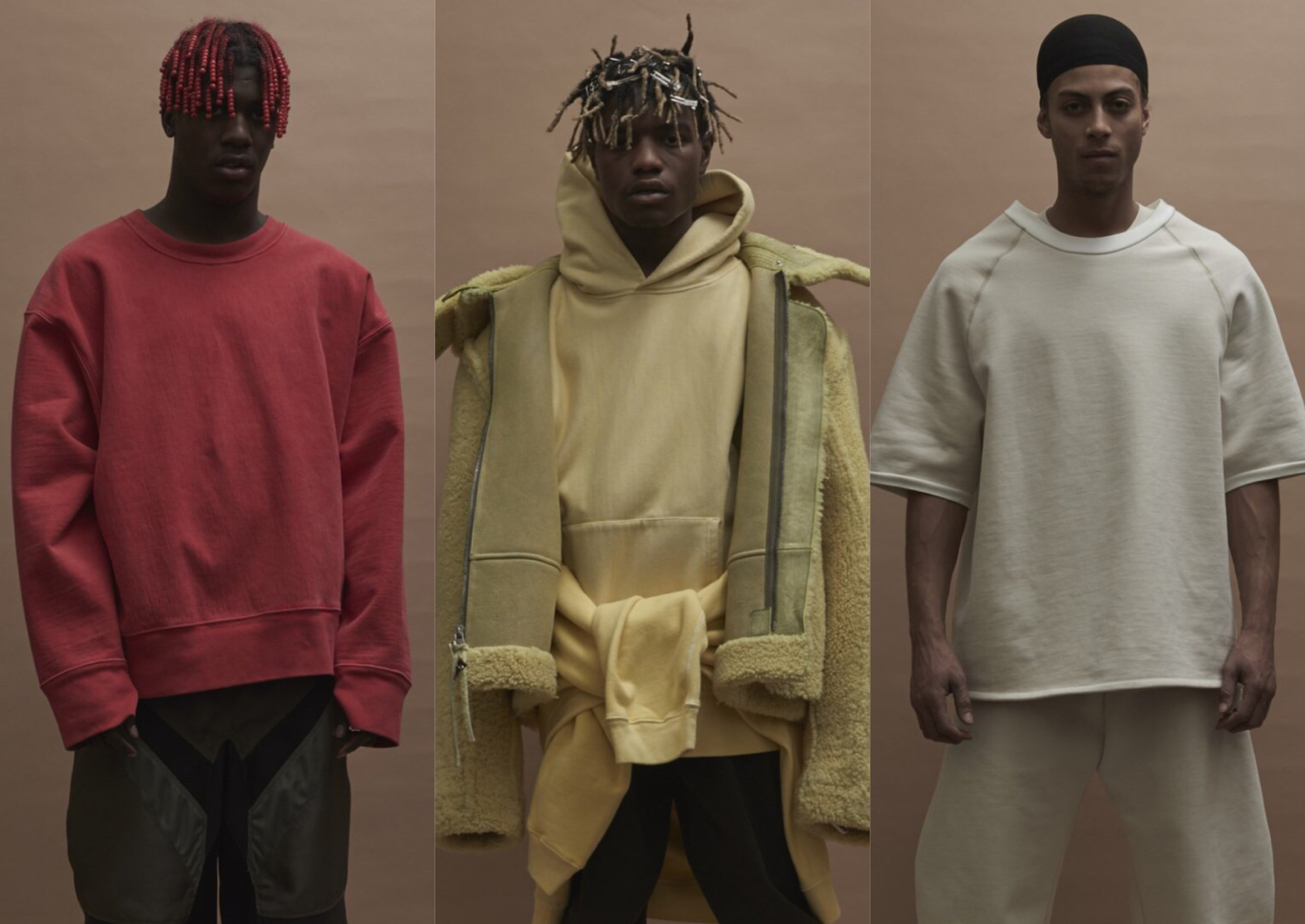 YEEZY Season 3 Fall/Winter 2016 Men's Lookbook