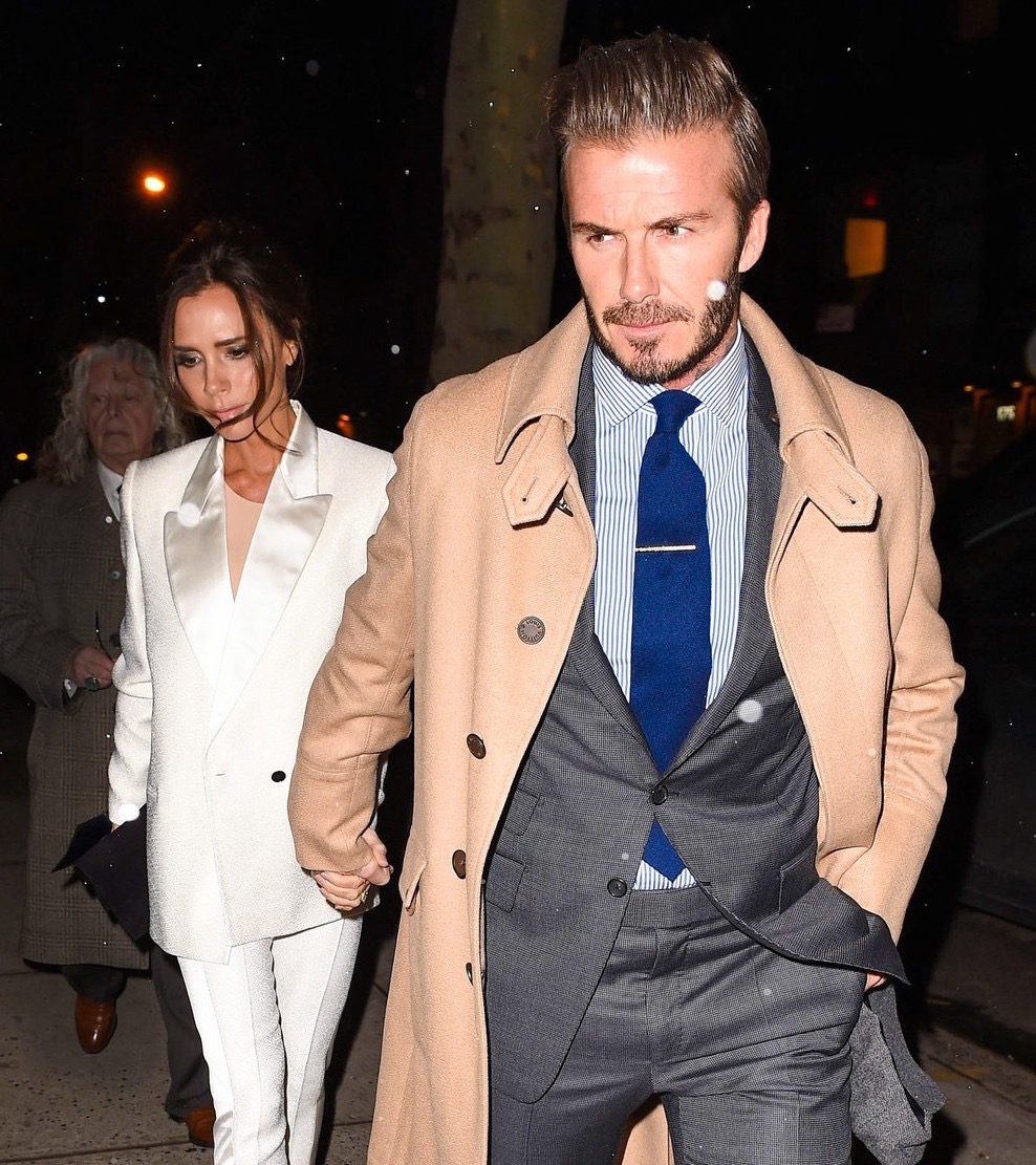 The Beckhams Spotted on NYC Datenight