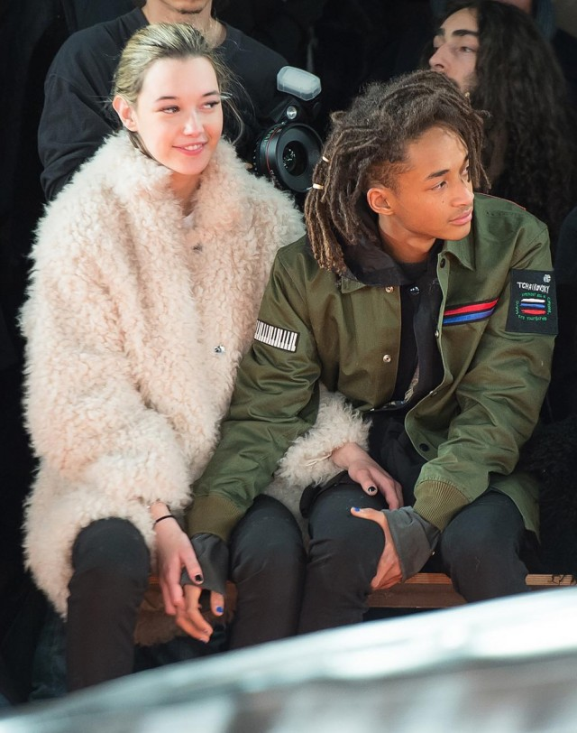 Spotted: Jaden Smith in Opening Ceremony Jacket At NYFW