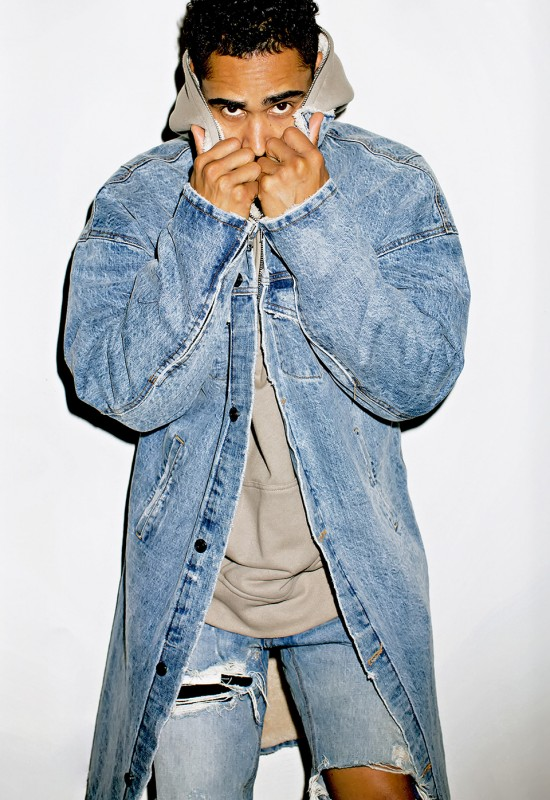 Jerry Lorenzo Models In the Fear of God Collection for SENSE