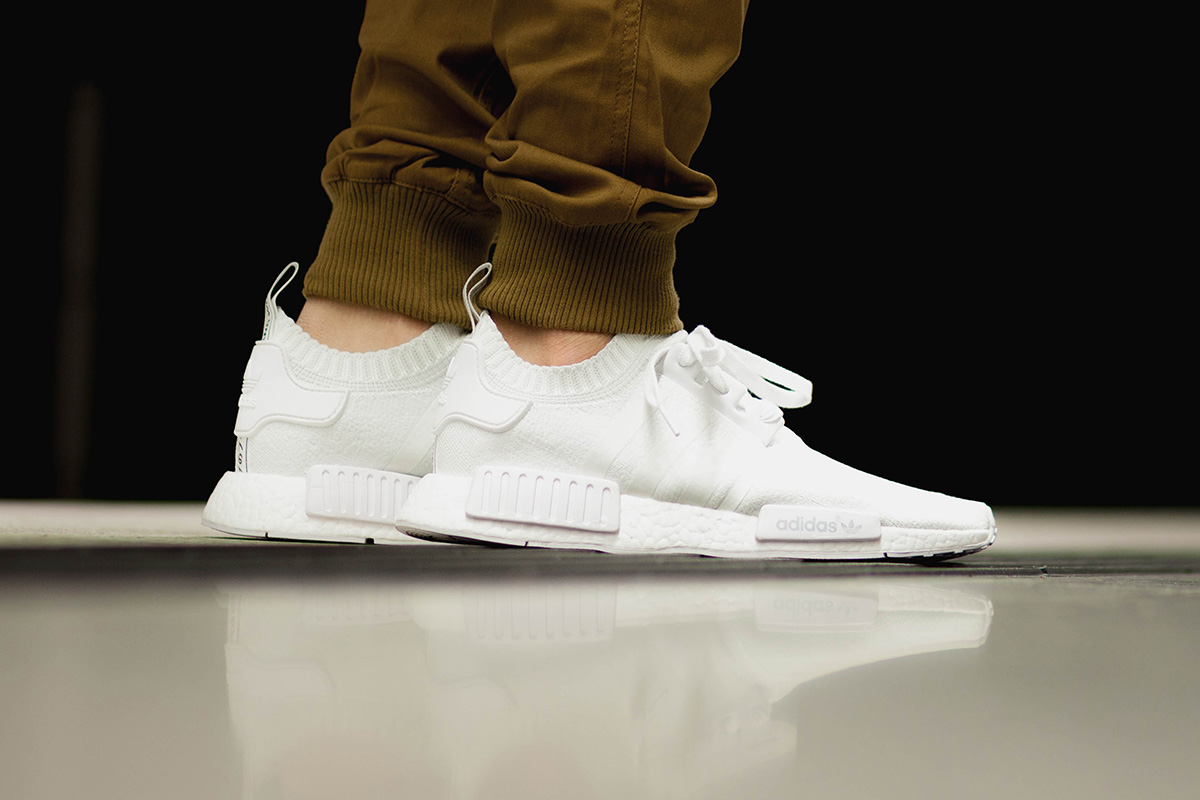 "Adidas NMD R1 ""Vintage White"" Launches"