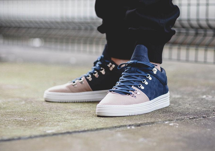 "Filling Pieces Mountain Cut Salmon Toe ""Navy"""
