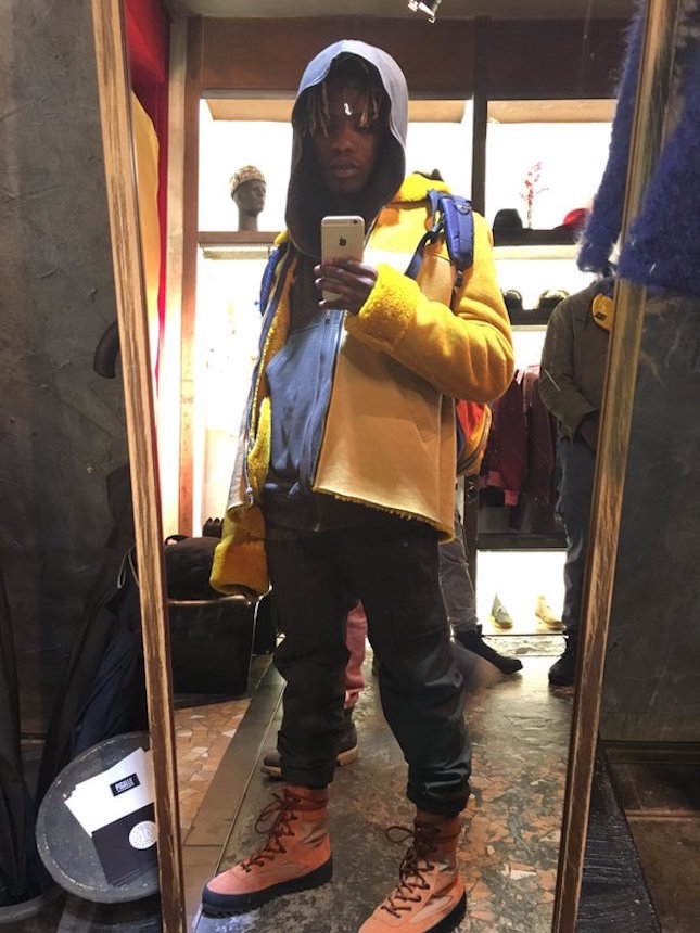 Spotted: Ian Connor in Head-To-Toe Yeezy