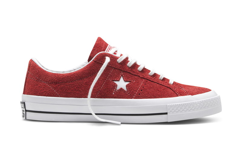 Converse One Star Lifestyle in Hairy Suede