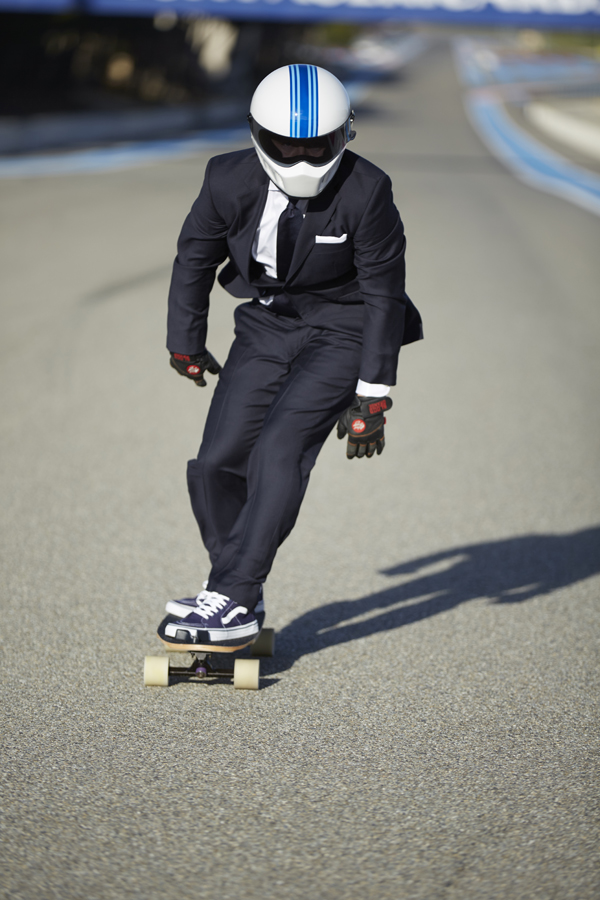 Hackett x Williams Racing Present 'The 70 mph Skater'