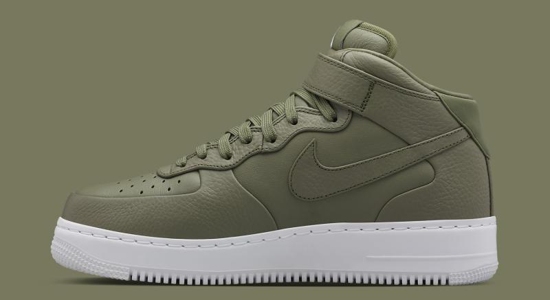 "NikeLab ""Urban Haze"" Premium Air Force 1 Mid"