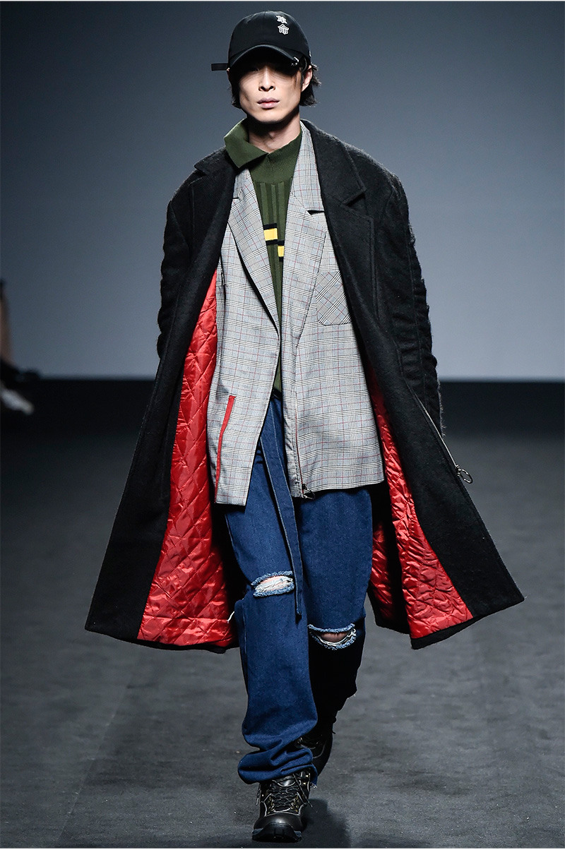 R.shemiste FW16 Collection at Seoul Fashion Week