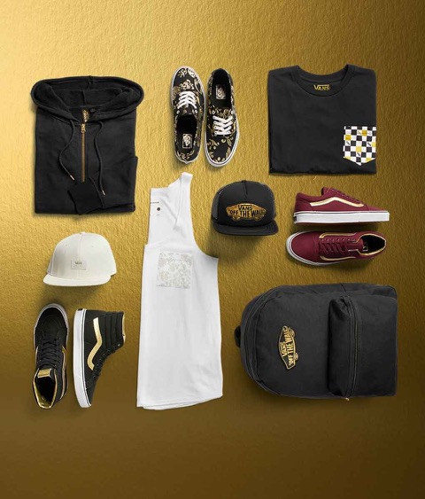 VANS 50th Anniversary Gold Pack