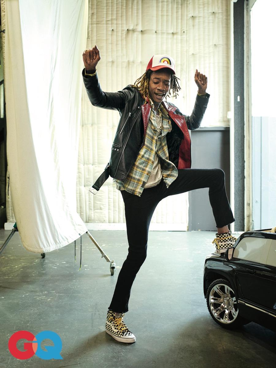 Wiz Khalifa and GQ Times Two