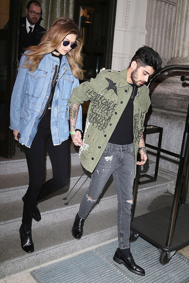 Spotted: Zayn Malik In Milan Wearing A Faith Connexion Jacket