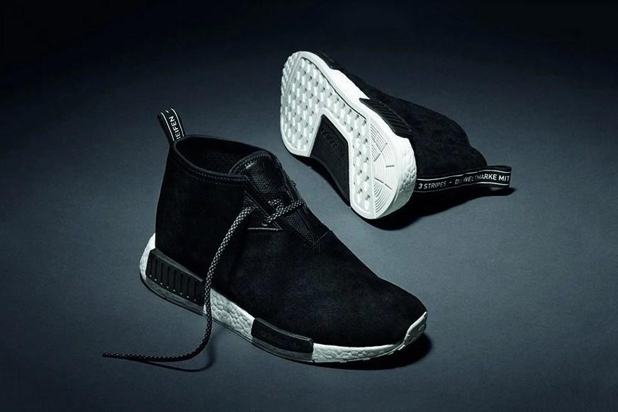 Sneaker Watch: adidas Black Suede NMD Chukka