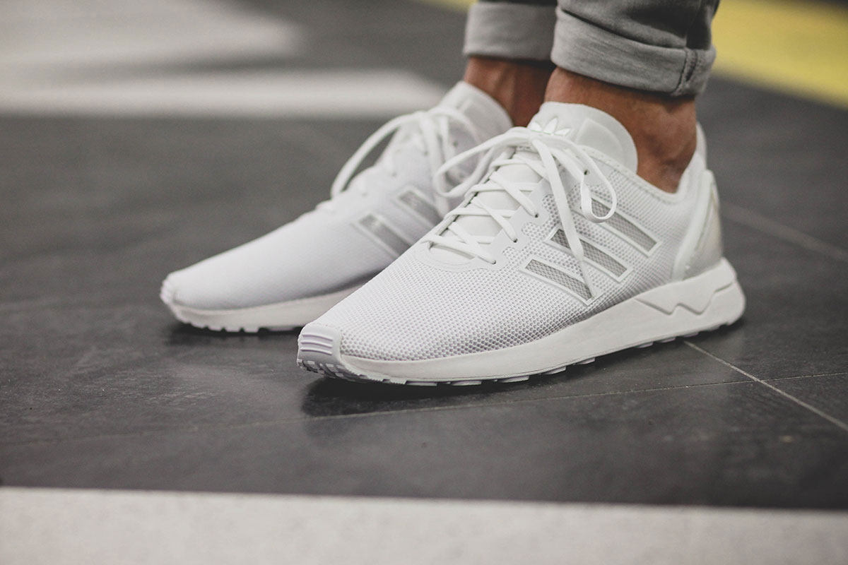 Adidas Originals releases an All-White Version of the ZX Flux ADV