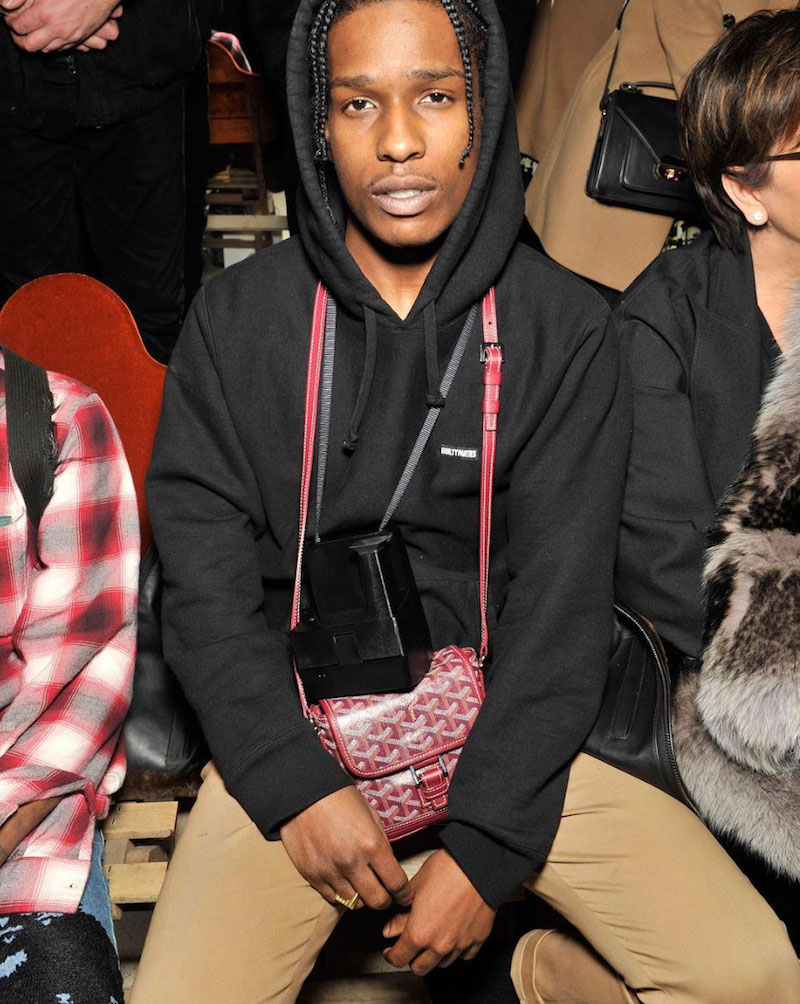 Get The Look: A$AP Rocky At Miu Miu