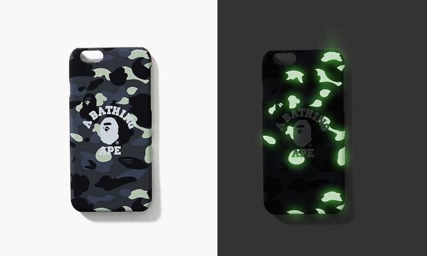 BAPE Glow-in-the-Dark Camo iPhone 6/6s Case
