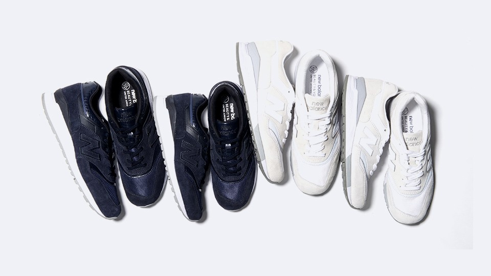 BEAUTY & YOUTH x New Balance 997.5 Sneakers