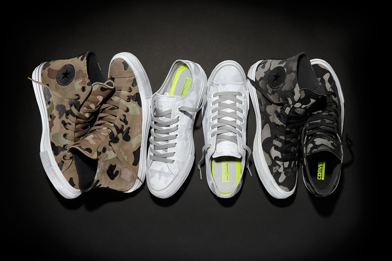 Chuck Taylor All Star II 'Reflective Print' Collection
