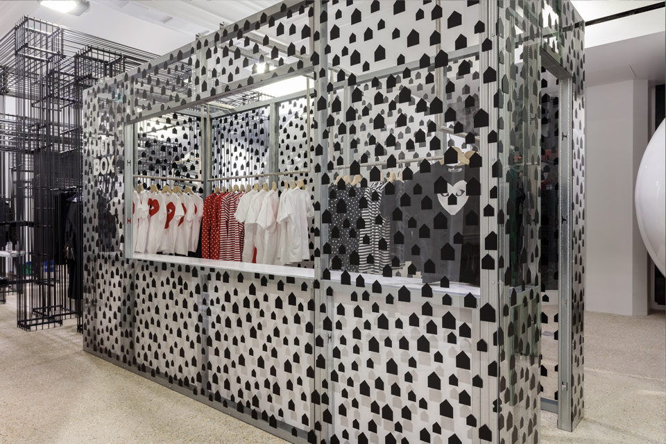 See The New Dover Street Market Store at Haymarket, London