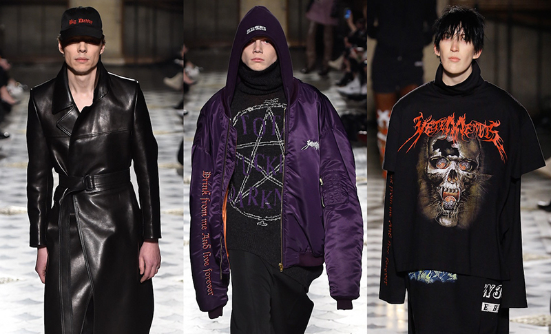 PFW: Vetements Fall/Winter Men's 2016 Collection