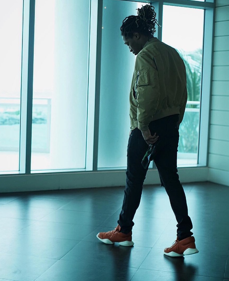 Spotted: Future In Adidas x Rick Owens Runner Sneaker