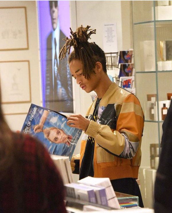 Spotted: Jaden Smith in Louis Vuitton