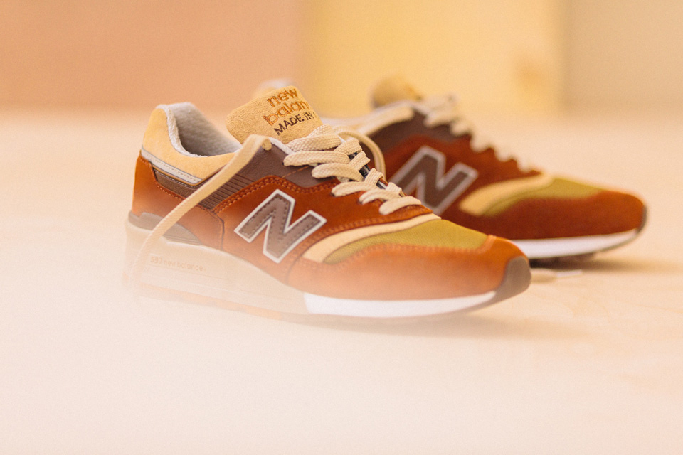New Balance x J. Crew: the 997 Butterscotch