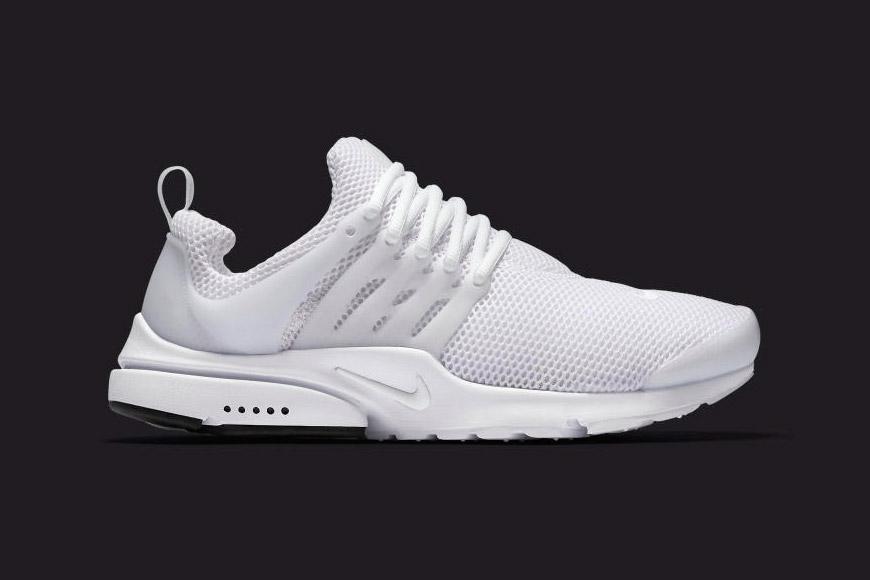 Nike Unveils All-White Air Presto