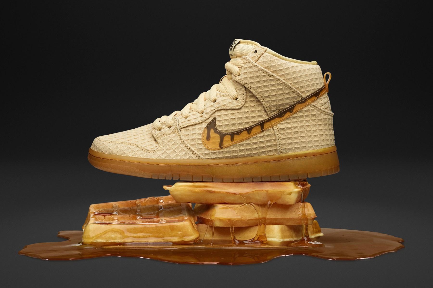 """Sneaker Watch: Nike SB Dunk High """"Waffle"""""""