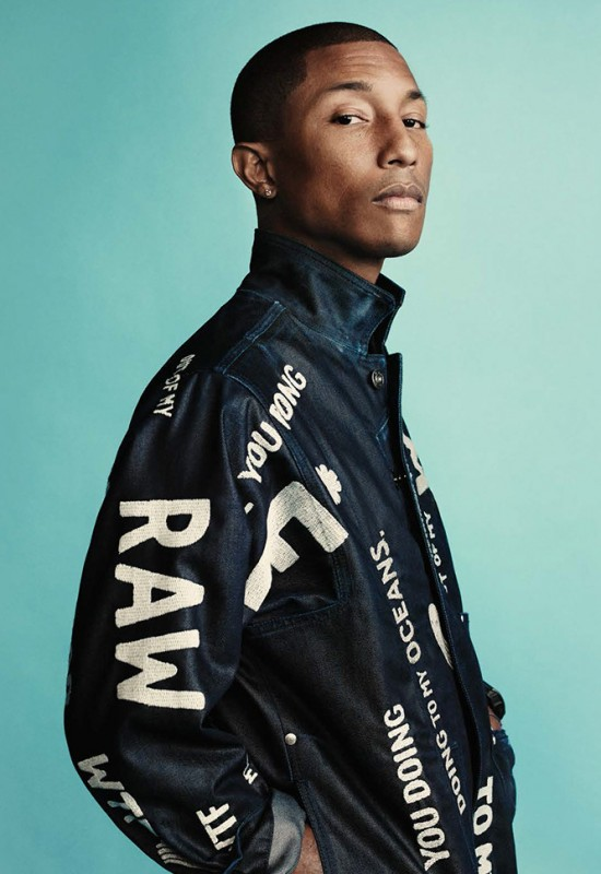 "Pharrell & G-Star RAW release ""RAW for the Oceans"" Collection"