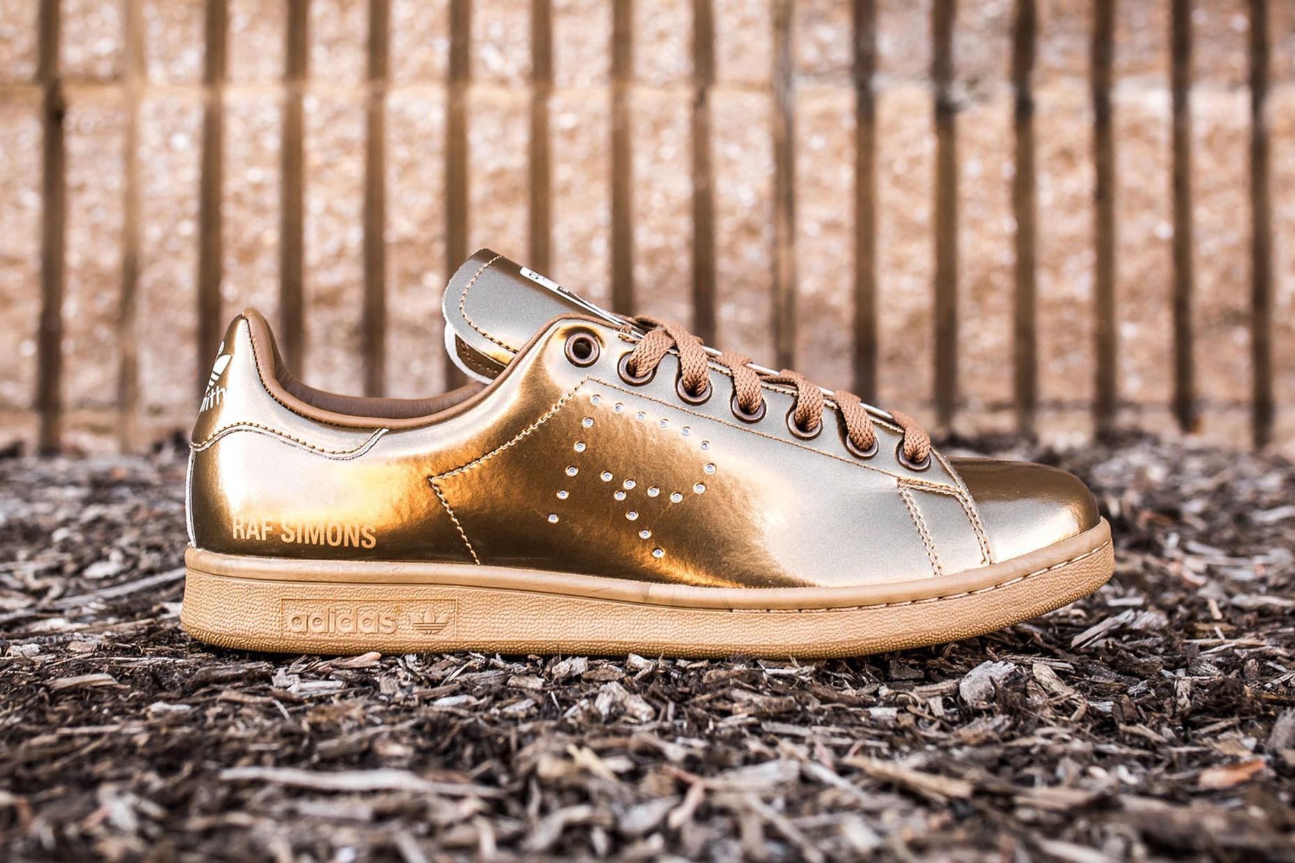 Raf Simons x stan smith: New 'Copper' Drop