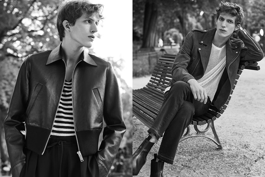 Sandro Spring/Summer 2016 Menswear Lookbook