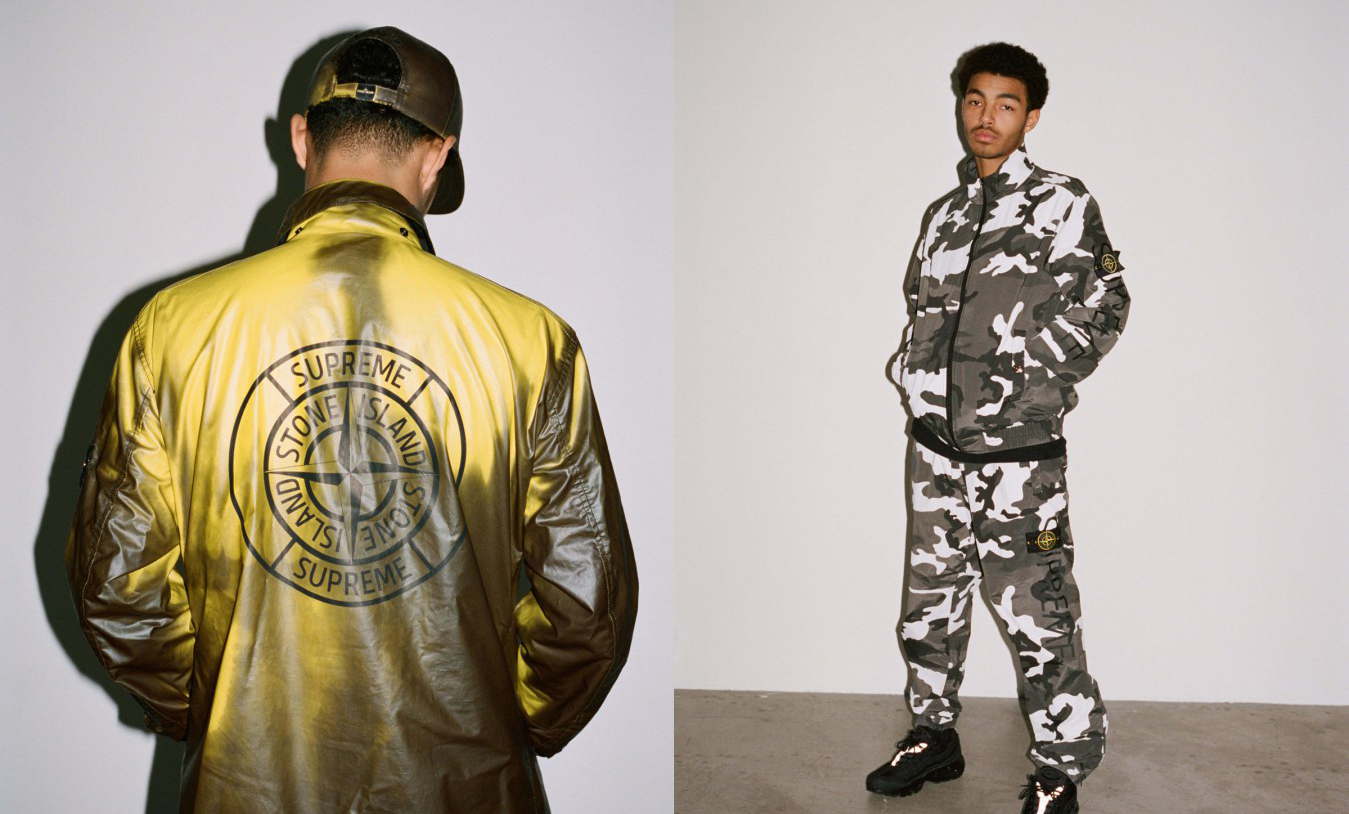 Supreme x Stone Island Spring/Summer 2016 Collection
