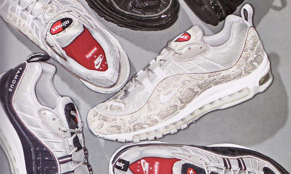 Supreme x NikeLab 98 Pack Update: Navy and White