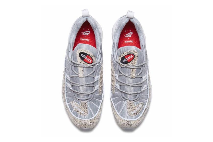 Supreme x Nike Air Max 98 Collaboration