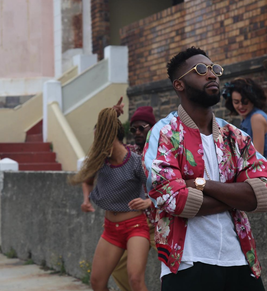Spotted: Tinie Tempah in Gucci Bomber