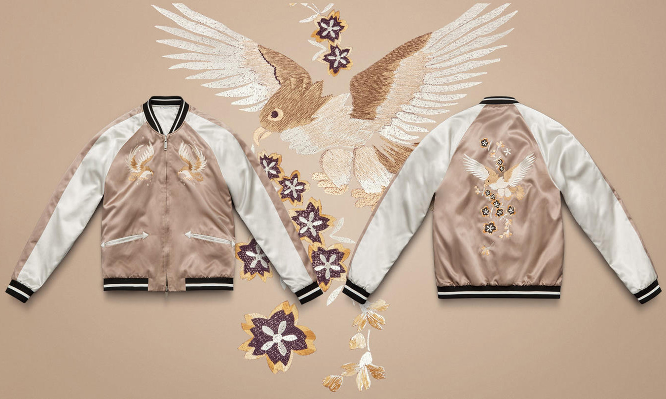 Valentino Launches New SS16 Souvenir Jackets