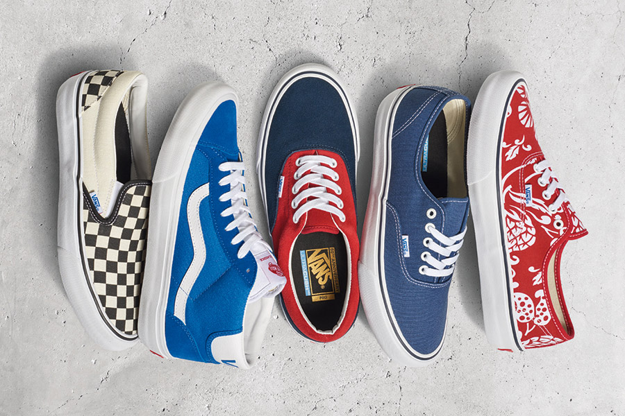 Vans Celebrates Its Golden Anniversary With Pro Classics Collection