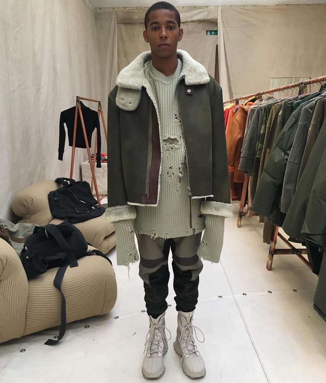 Yeezy Season 3 Showroom Photos at PFW