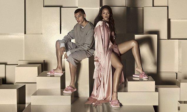 Rihanna x FENTY PUMA SS16 Pool Slides for SS16