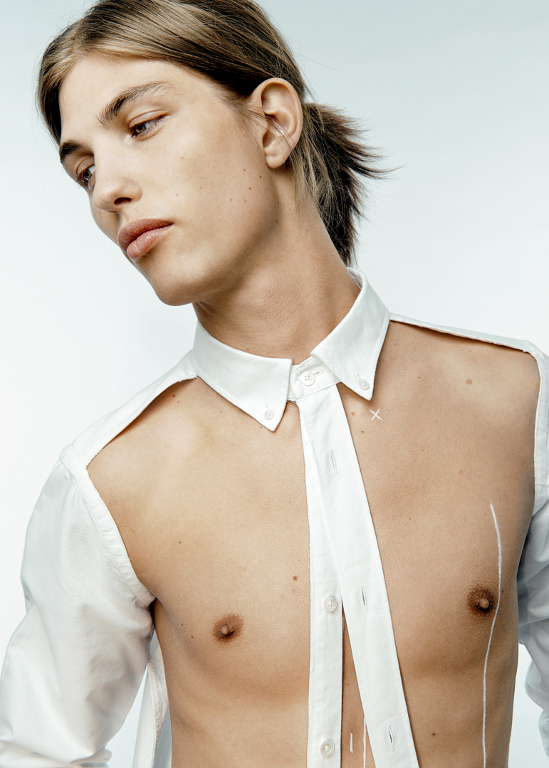 Introducing ASKET: The Transparent Oxford Shirt