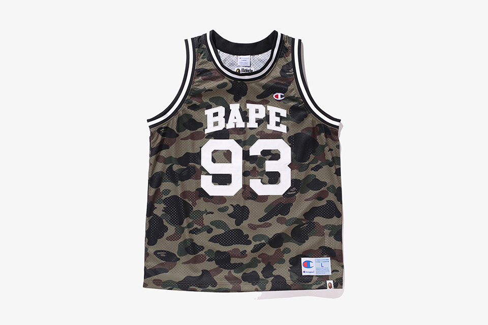 See The Full BAPE x Champion Capsule Collection Here
