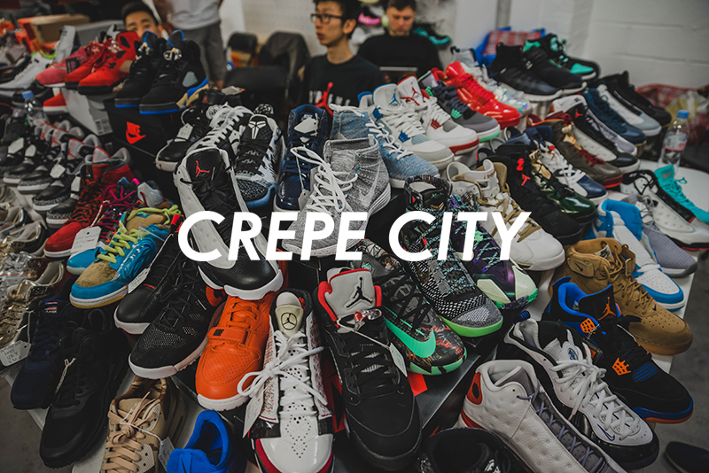 Sneaker Festival: Crepe City Returns On April 30