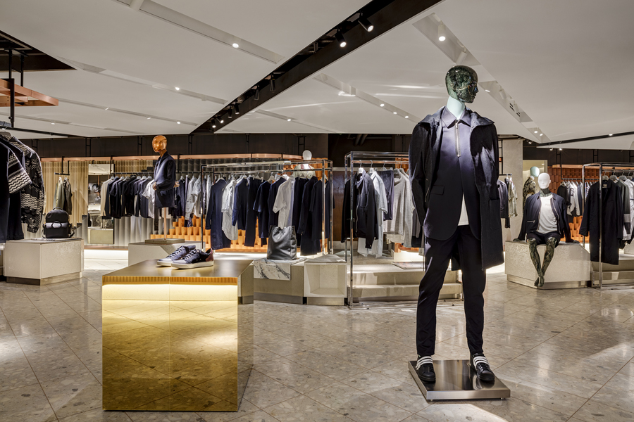 Harvey Nichols New Menswear Department