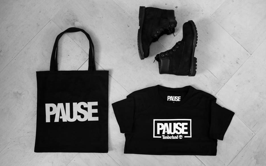 Win A PAUSE x Timberland T-Shirt, PAUSE Tote Bag & Timberland Boots!